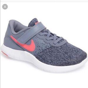 Nike Flex Contact Girls Running Shoe